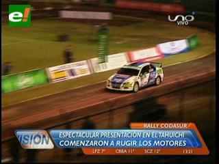 Comenzó el rugir de motores: Espectacular presentación del Rally Codasur 2013
