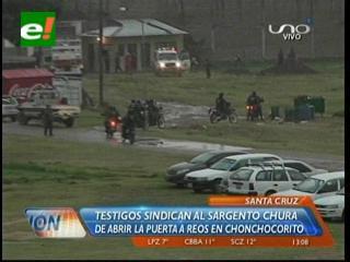 APDH: Un policía está involucrado en la masacre de Palmasola