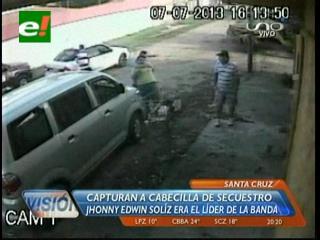 Santa Cruz: Felcc detiene al supuesto cabecilla de una banda de secuestradores