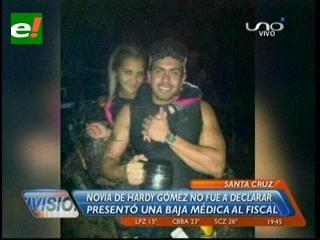 Asesinato de Álvaro Escalante: Novia de Hardy Gómez no se presentó a declarar