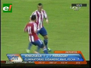 Ante Paraguay, se terminó el sueño mundialista de Venezuela
