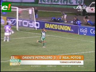 Se acabó el letargo de Oriente con una goleada sobre Real Potosí