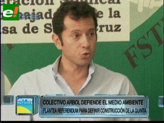 Colectivo Árbol propone un referendo por la Quinta Municipal
