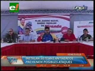 Instalan sistema antiaéreo en Venezuela
