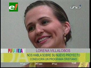 """Lorena Villalobos incursiona en la televisión con el programa """"Hoy es Tiempo"""""""