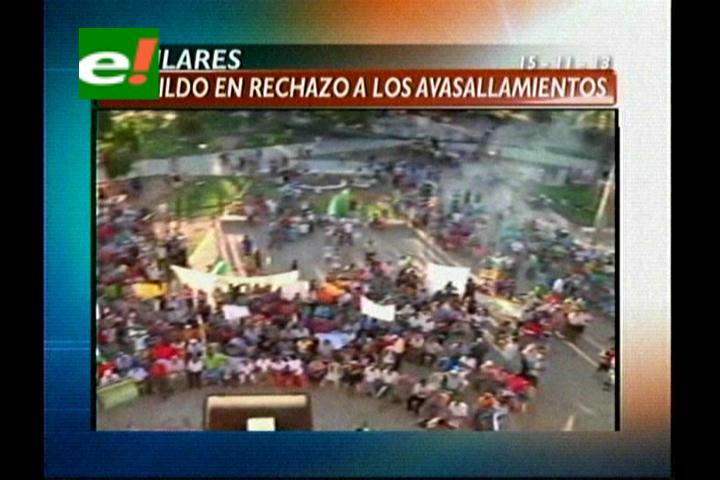 Titulares: Cabildo en San José de Chiquitos rechaza los avasallamientos de tierra