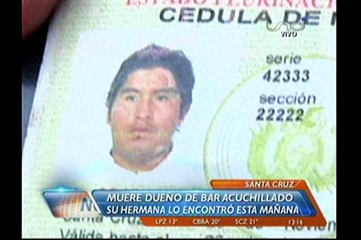 Encuentran a un hombre asesinado en su propio local