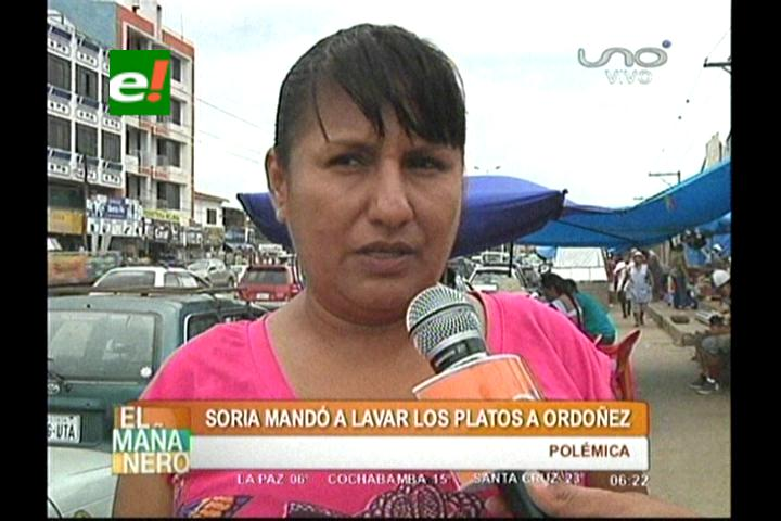 Ordóñez responde a Soria: Al ignorante no se le hace caso