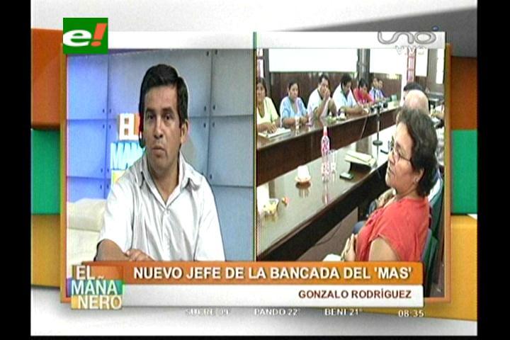 Gonzalo Rodríguez es el nuevo jefe de bancada del MAS en Santa Cruz