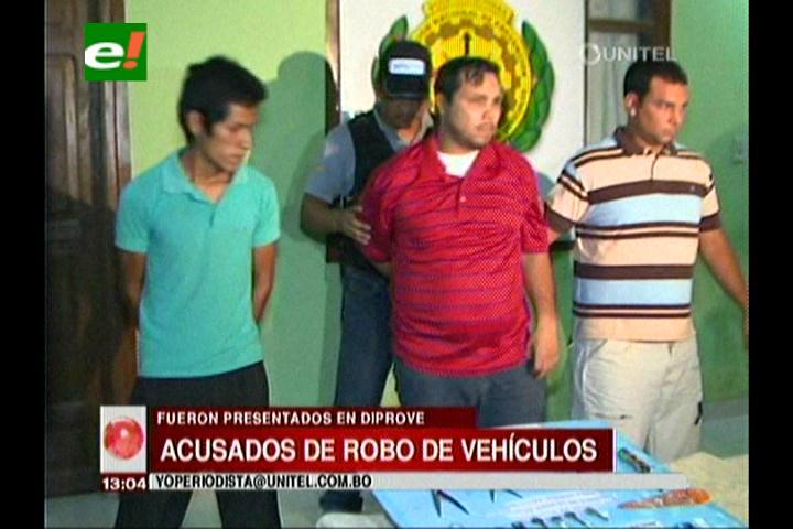 Diprove captura a presuntos atracadores de vehículos