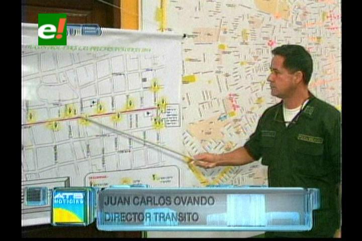 Tránsito ya tiene el plan carnavalero