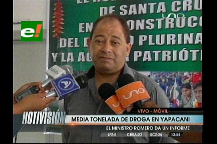 Felcn interviene un laboratorio de cristalización de droga en Yapacaní