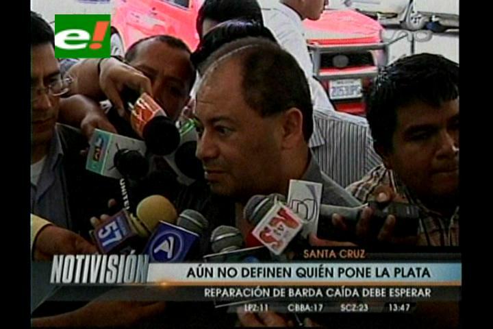Gobierno asegura que ya tiene los recursos para la reconstrucción de la barda de Palmasola