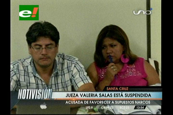 Suspenden a la jueza Valeria Salas, es acusada de favorecer a supuestos narcotraficantes