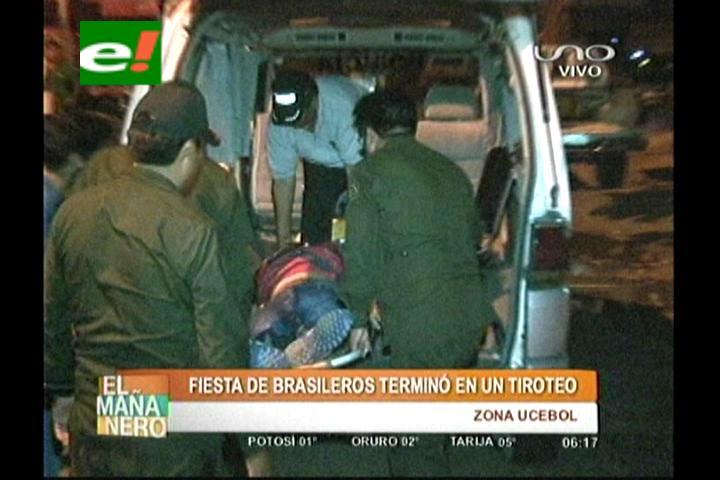 Santa Cruz: Fiesta de brasileros terminó en balacera, hay dos muertos