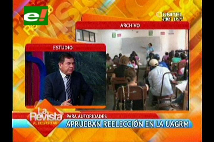 Aprueban reelección de autoridades en la Uagrm