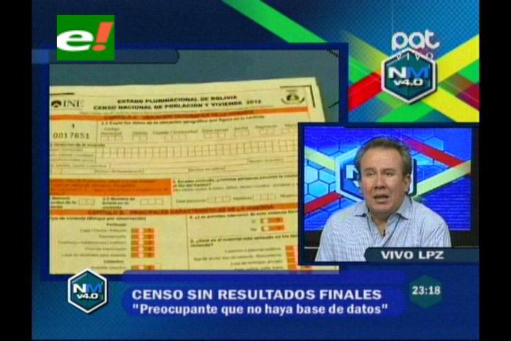 Censo sin resultados finales y Bolivia sin Pacto Fiscal