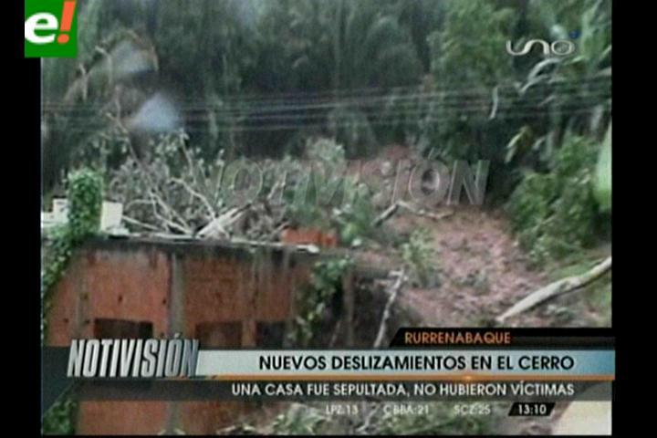 Empeora la situación en Rurrenabaque, no para de llover y hay más evacuados