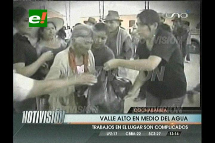 Cochabamba: Inundaciones afectaron a 139 viviendas del Valle Alto