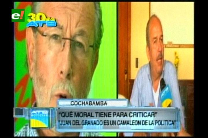 """Vocero de UN: """"Juan Del Granado es un camaleón de la política"""""""