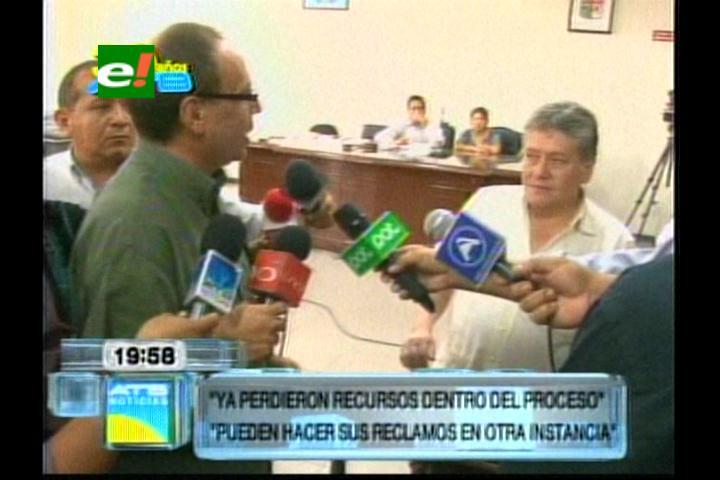 Caso terrorismo: Imputados increpan al fiscal Céspedes por la supuesta fuga de Marcelo Soza