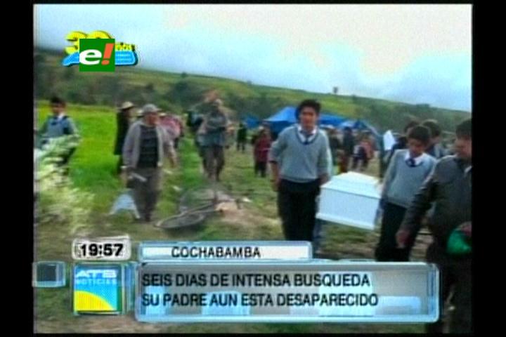 Cochabamba: En redes comunarias rescatan cuerpo de menor desaparecida