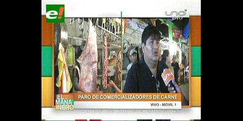 Santa Cruz: Carniceros cumplen paro irregular y Fejuve pide sanciones