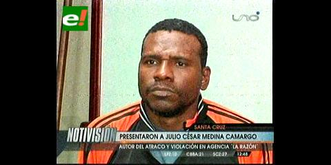 """El """"Mandela"""", fue enviado a Palmasola"""