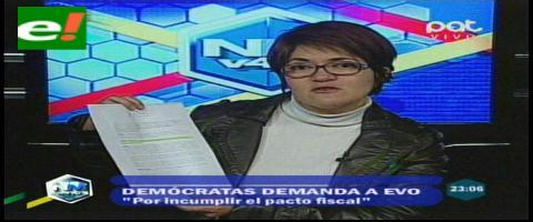 Ministra de Autonomías minimiza demanda de la Gobernación cruceña por el pacto fiscal