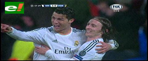 Liga de Campeones: Real Madrid golea 3-0 a Borussia Dortmund en ida de cuartos
