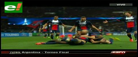 PSG derrotó 3-1 al Chelsea de Mourinho por la Liga de Campeones