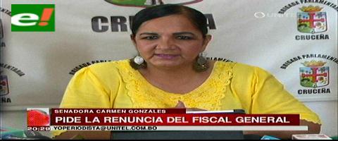 Senadora presenta audio que revela supuestos planes para negociar penas en el caso terrorismo