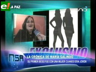 María Galindo: «Yo nací lesbiana»