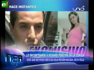 Apareció Richard Pereira y vio a Fabiola Pastén