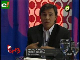 Pedro García vuelve mañana a la tv. por PAT