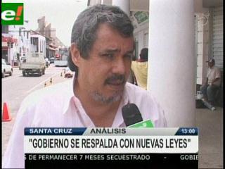 Carlos H. Molina: «En Bolivia no hay diálogo solo hay un monólogo»