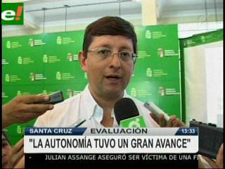 Oscar Ortiz: «Existe un gran avance de la autonomía»