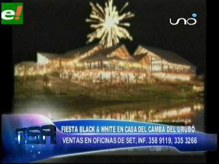 Año nuevo 2011 con Venetian Black & White