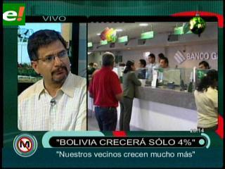 Gonzalo Chávez: «Bolivia solo crecerá el 4%»