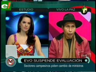Exigen cambio de ministros de Evo Morales