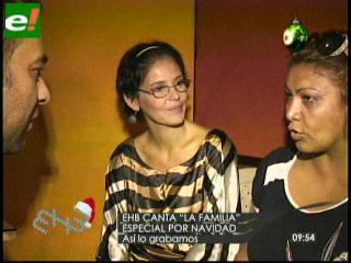 Programa «En hora buena» le canta a la familia en navidad