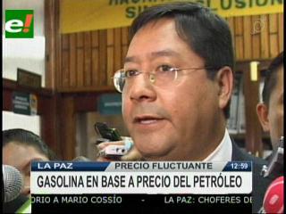 Luis Arce: «No se modificará el Decreto»