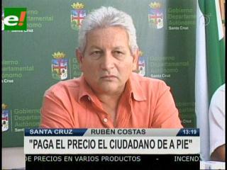 "Rubén Costas: ""YPFB es un fracaso"""
