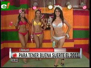 Lencería sexy para Año Nuevo 2011