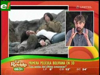 """""""Los restos del último amanecer"""" primer película boliviana en 3D"""