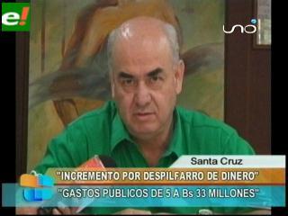 José Luis Parada: «El gasolinazo es consecuencia del despilfarro del Gobierno»