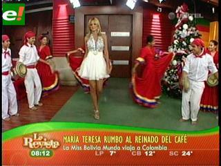 María Teresa Roca se va a Reina Internacional del Café