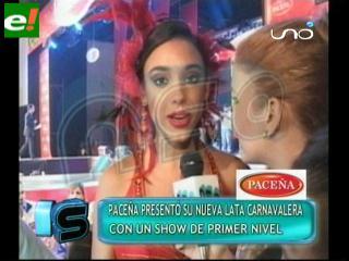 Paceña hizo la apertura del carnaval cruceño 2011