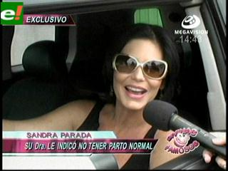Sandra Parada: «Rafaela nacerá el 28 de mayo»