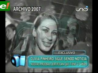 Vídeo archivo de NSA demuestra que Olivia Pinheiro tiene 27 años